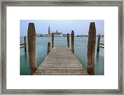 Venice - Italy Framed Print by Joana Kruse