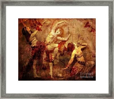 Winsome Women Framed Print