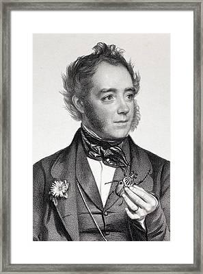 1849 John Obadiah Westwood Entomologist Framed Print