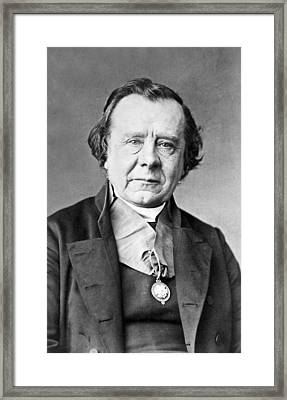 1870 Bishop Samuel Wilberforce Photograph Framed Print by Paul D Stewart
