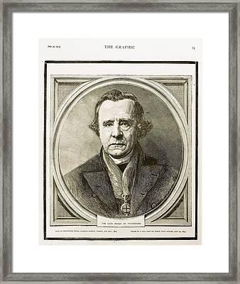 1873 Bishop Samuel Wilberforce Death Framed Print by Paul D Stewart