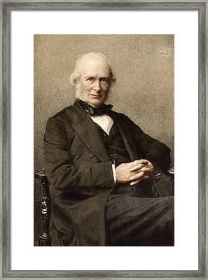 1880's Joseph Prestwich Tinted Photograph Framed Print by Paul D Stewart