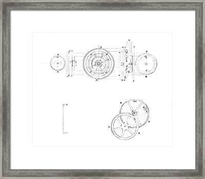 18th Century Chronometer, Artwork Framed Print
