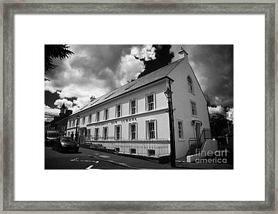 18th Century Gracehill Old School And Village Framed Print