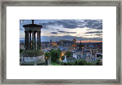 Scotland Framed Print by Jose Luis Cezon Garcia