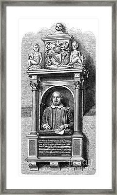 William Shakespeare Framed Print by Granger