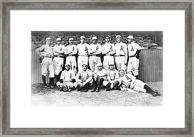 1902 Philadelphia Athletics Framed Print by Bill Cannon