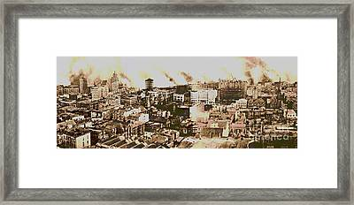1906 San Francisco Earthquake Framed Print by Padre Art