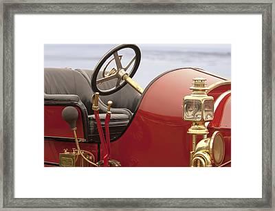 1910 Mercer Speedster Framed Print by Jill Reger