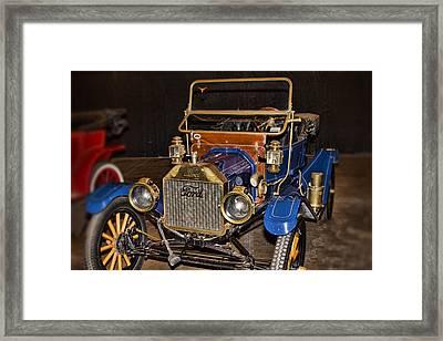 1911 Ford Model T Framed Print by Douglas Barnard