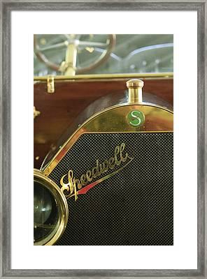 1911 Speedwell 50hp Toy Tonneau Framed Print