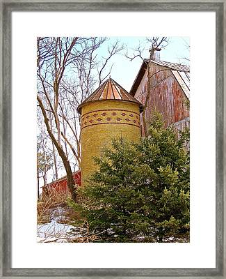 1913 Past Its Prime Framed Print by Randy Rosenberger