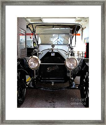1914 Buick Touring Framed Print by Wingsdomain Art and Photography