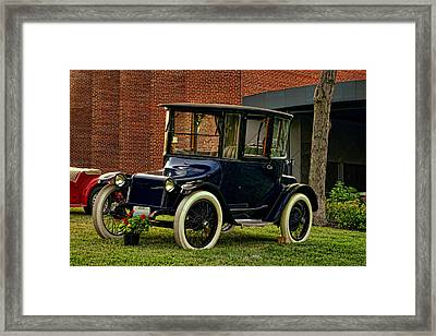 1917 Detroit Electric Model 68 Framed Print