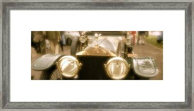 1920s Rolls Royce Detail Framed Print by John Colley