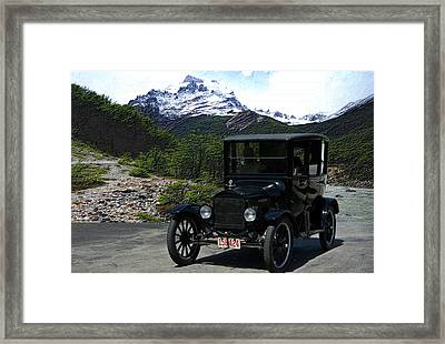 1921 Ford Model T Framed Print by Tim McCullough