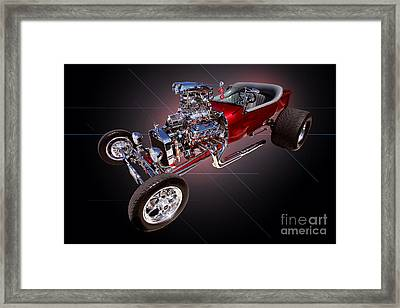1923 Classic Ford T Bucket Framed Print by Jim Carrell