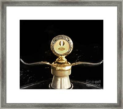 1923 Ford Hood Ornament  Framed Print by Steven  Digman