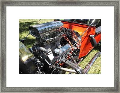 1923 Ford T-bucket . 5d16452 Framed Print by Wingsdomain Art and Photography