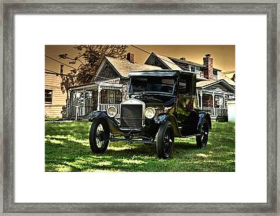 1926 Ford Model T Framed Print by Tim McCullough