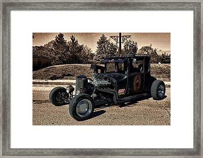 1927 Ford High Top T Rat Rod Framed Print