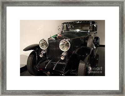 1927 Rolls Royce Phantom 1 Towncar - 7d17195 Framed Print by Wingsdomain Art and Photography