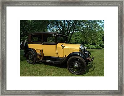 1928-29 Ford Model A Sedan Framed Print by Tim McCullough