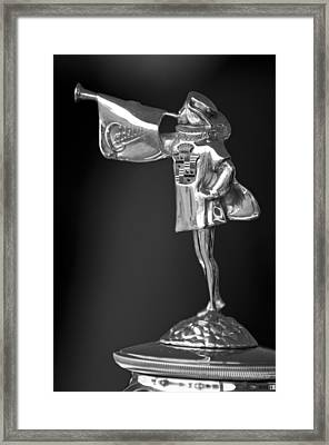1929 Cadillac 1183 Dual Cowl Phaeton Hood Ornament 2 Framed Print by Jill Reger