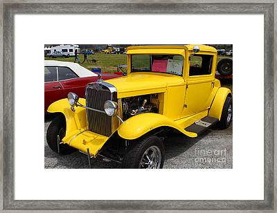 1929 Chevrolet Coupe 7d15140 Framed Print by Wingsdomain Art and Photography