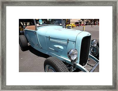 1929 Ford Hi-boy Roadster . 5d16488 Framed Print