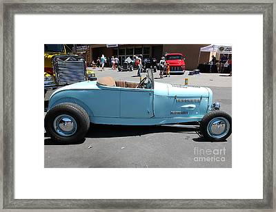 1929 Ford Hi-boy Roadster . 5d16490 Framed Print