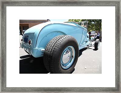 1929 Ford Hi-boy Roadster . 5d16491 Framed Print