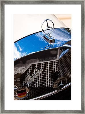 1929 Mercedes Ssk Gazelle Roadster Framed Print by David Patterson