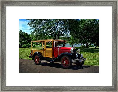 1930 Ford Huckster Framed Print by Tim McCullough
