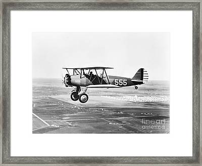1930s Pilot Training Framed Print by Omikron