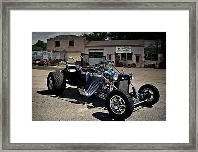 1931 Austin Bantam Ford  Roadster Framed Print by Tim McCullough