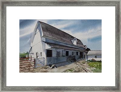 1931 Barn Framed Print