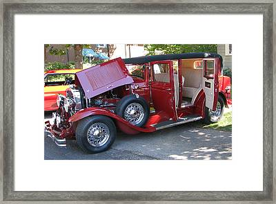 1931 Buick Framed Print by Victoria Sheldon