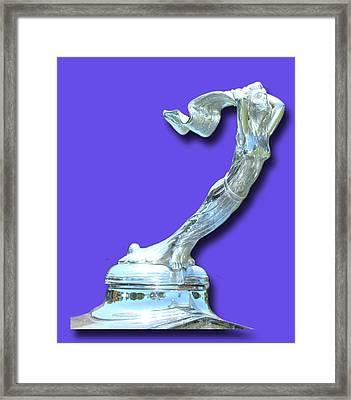 1931 Cadillac Goddess Mascot Framed Print