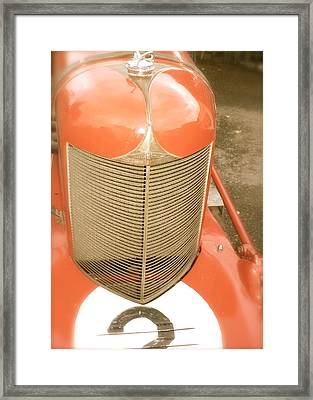 1931 Clemons On A 1927 Duesenberg Chassis Framed Print by John Colley