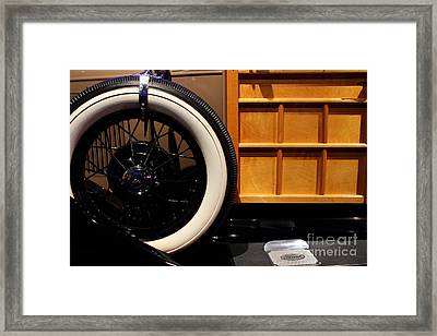 1931 Ford Model A Station Wagon - 7d17491 Framed Print by Wingsdomain Art and Photography