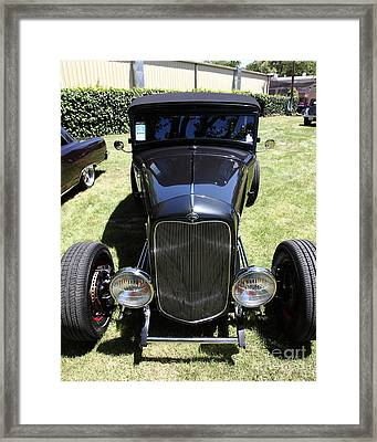 1931 Ford Victoria . 5d16455 Framed Print by Wingsdomain Art and Photography