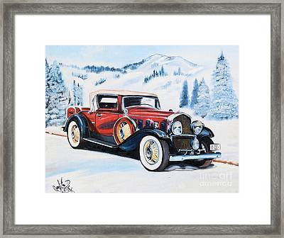 1931 La Salle Convertible Coupe Framed Print
