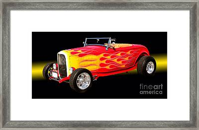1932 Ford Hotrod Framed Print by Jim Carrell