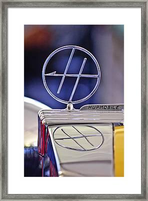 1932 Hupmobile Custom Roadster Hood Ornament Framed Print
