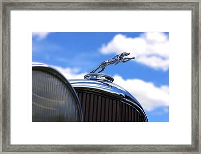 Framed Print featuring the photograph 1932 Lincoln Kb Brunn Phaeton by Gordon Dean II