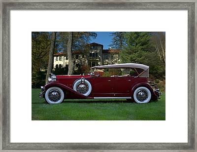 1932 Packard 903 Deluxe Eight Sport Phaeton Framed Print by Tim McCullough
