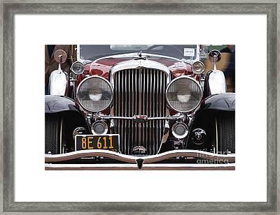 1933 Duesenberg Model J - D008167 Framed Print by Daniel Dempster