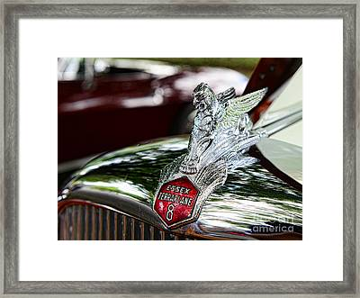 1933 Essex Terraplane 8 Framed Print by Paul Ward