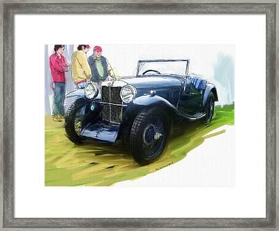 1933 M G J2 Framed Print by RG McMahon